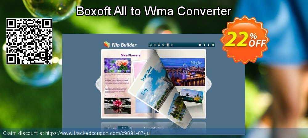 Boxoft All to Wma Converter coupon on US Independence Day offer