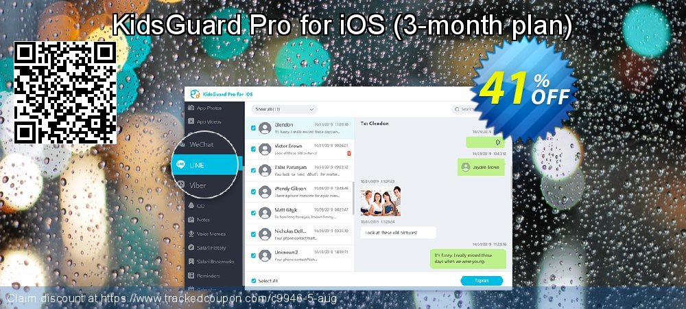 KidsGuard Pro for iOS - 3-month plan  coupon on Black Friday super sale