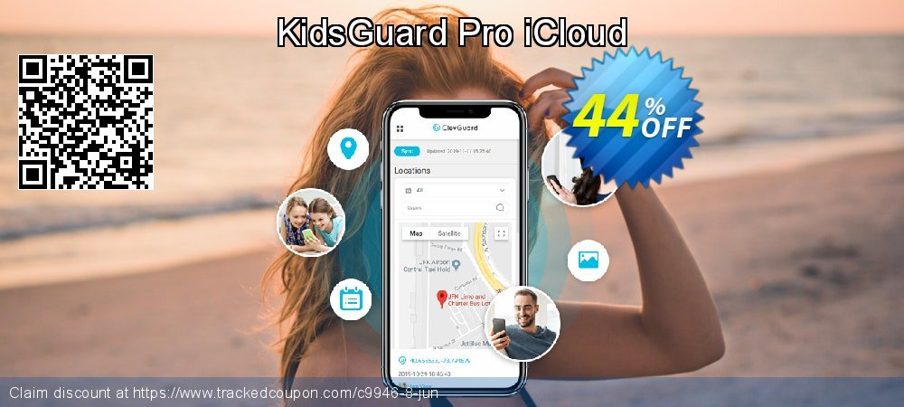 KidsGuard Pro iCloud coupon on New Year promotions