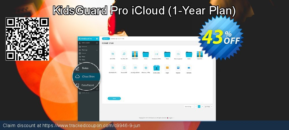 KidsGuard Pro iCloud - 1-Year Plan  coupon on New Year's eve offer