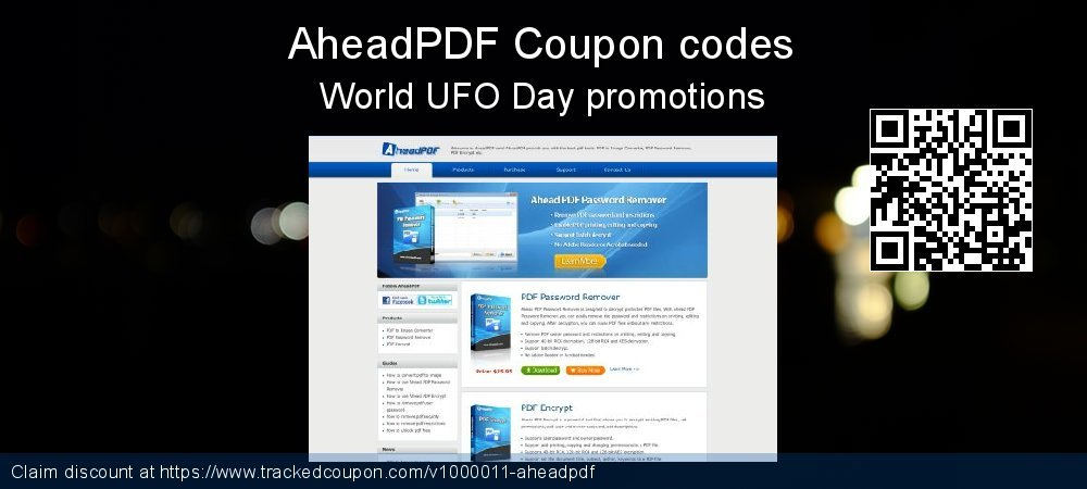 AheadPDF Coupon discount, offer to 2019 Back to School coupons