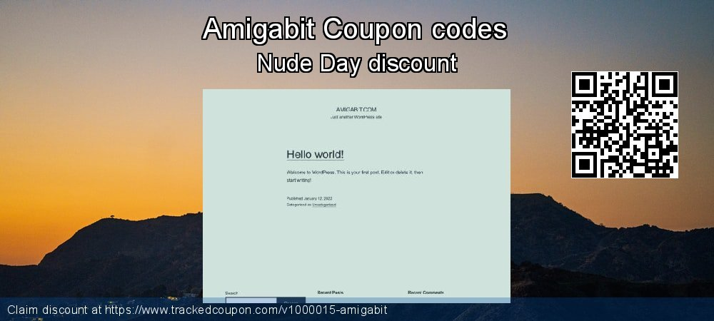 Amigabit Coupon discount, offer to 2020 New Year's Day
