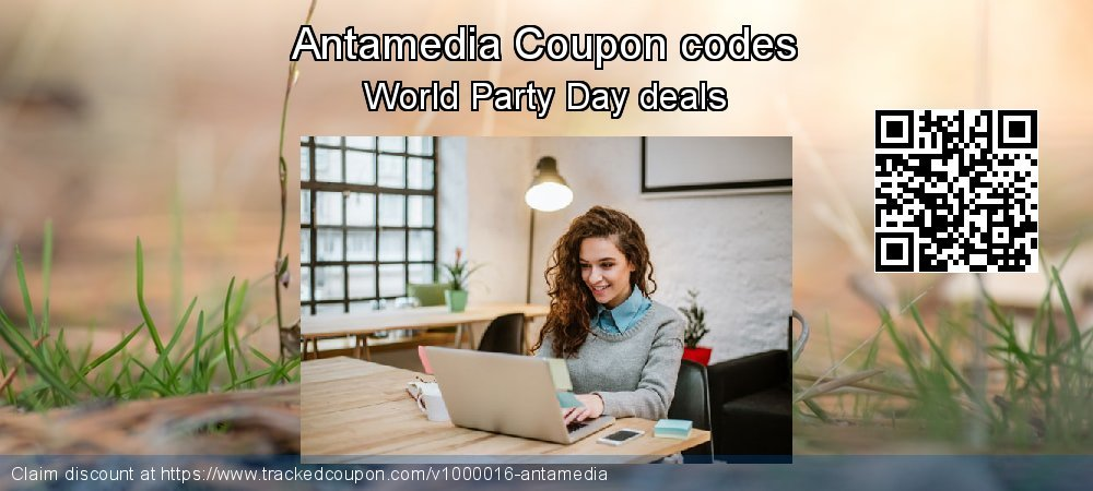 Antamedia Coupon discount, offer to 2020 Spring