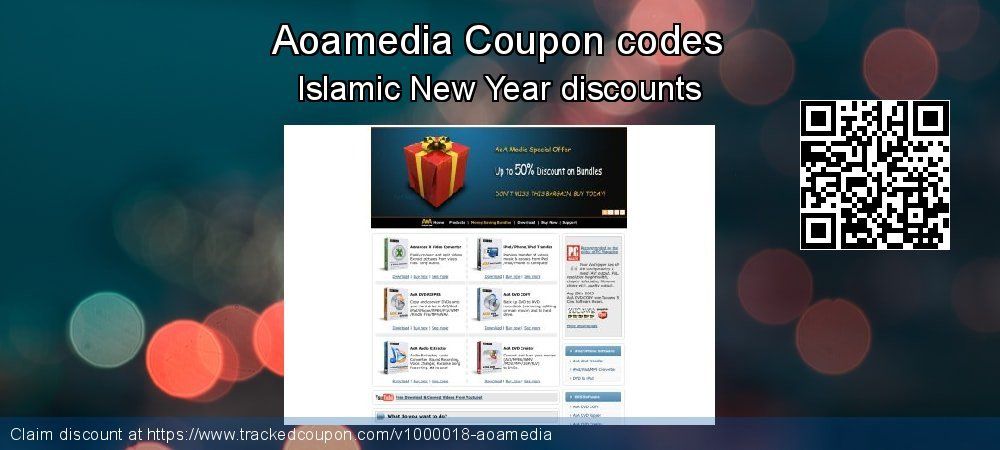 Aoamedia Coupon discount, offer to 2020