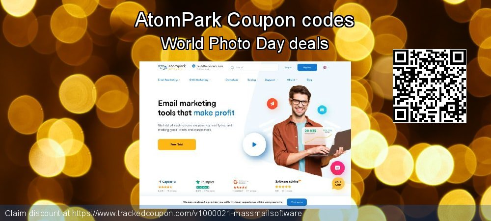 AtomPark Coupon discount, offer to 2020