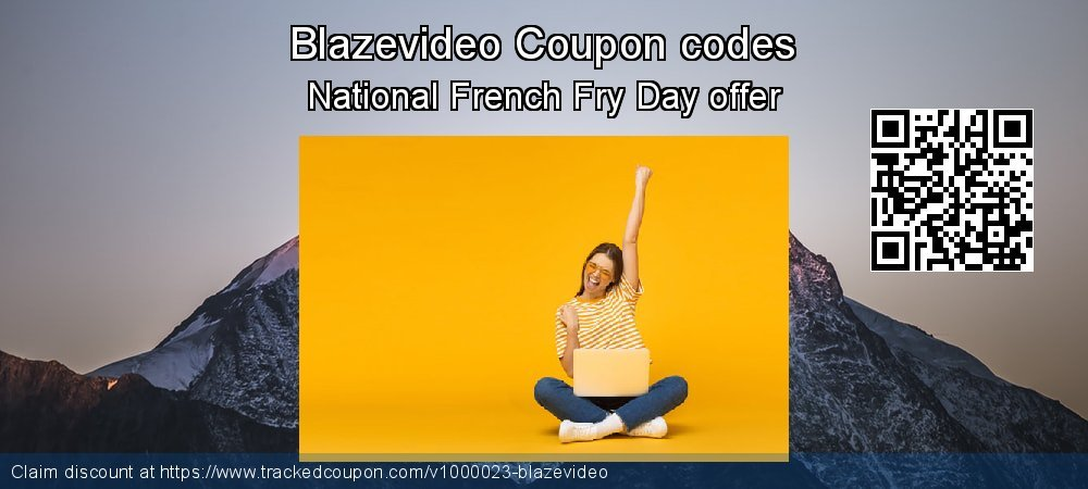 Blazevideo Coupon discount, offer to 2020 Easter Sunday