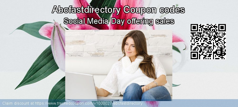 Abcfastdirectory Coupon discount, offer to 2020