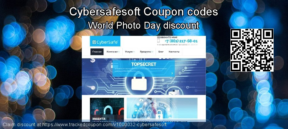 Cybersafesoft Coupon discount, offer to 2019 July 4th