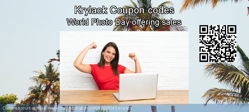 Krylack Coupon discount, offer to 2020 Happy New Year