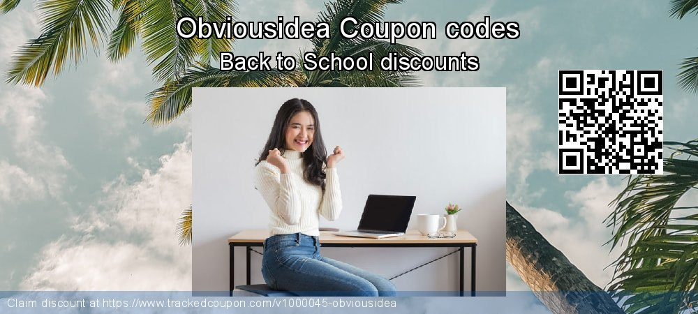 Obviousidea Coupon discount, offer to 2019 4th of July