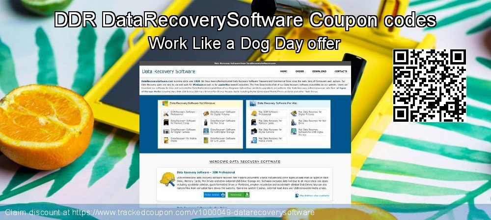 DDR DataRecoverySoftware Coupon discount, offer to 2020 Easter