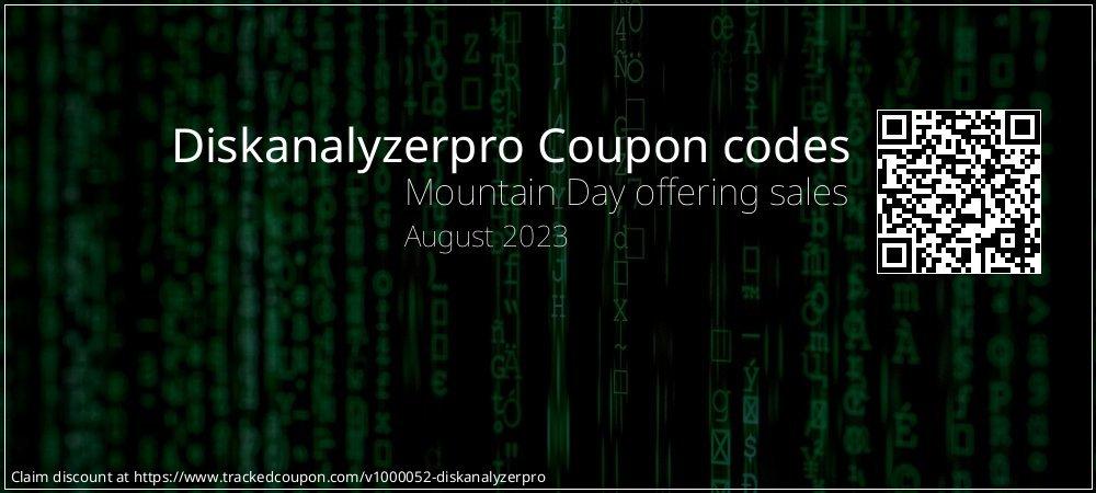 Diskanalyzerpro Coupon discount, offer to 2020 Happy New Year