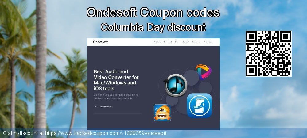 Ondesoft Coupon discount, offer to 2019 Summer