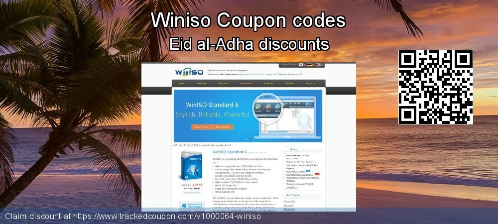 Winiso Coupon discount, offer to 2021