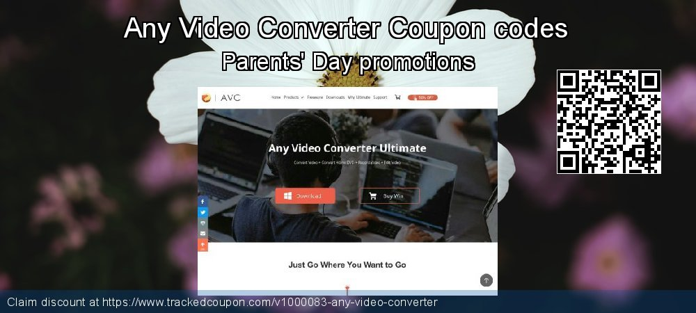 Any Video Converter Coupon discount, offer to 2019 Int. Workers' Day
