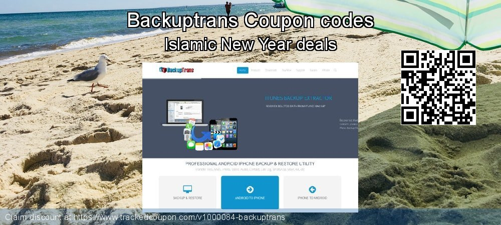 Backuptrans Coupon discount, offer to 2019 Int. Workers' Day