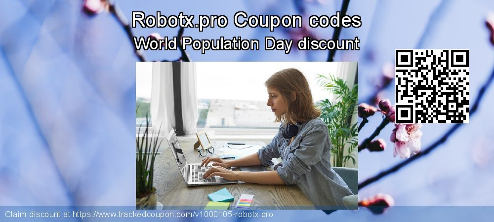 Robotx.pro Coupon discount, offer to 2019 US Independence Day
