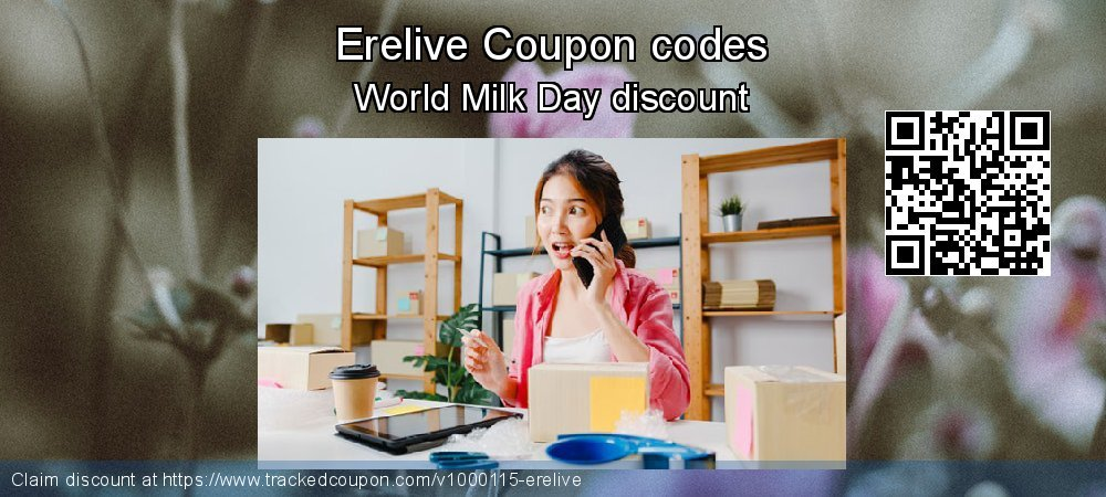 Erelive Coupon discount, offer to 2019 Int. Workers' Day