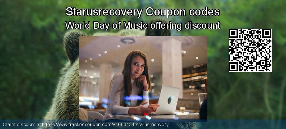 Starusrecovery Coupon discount, offer to 2020