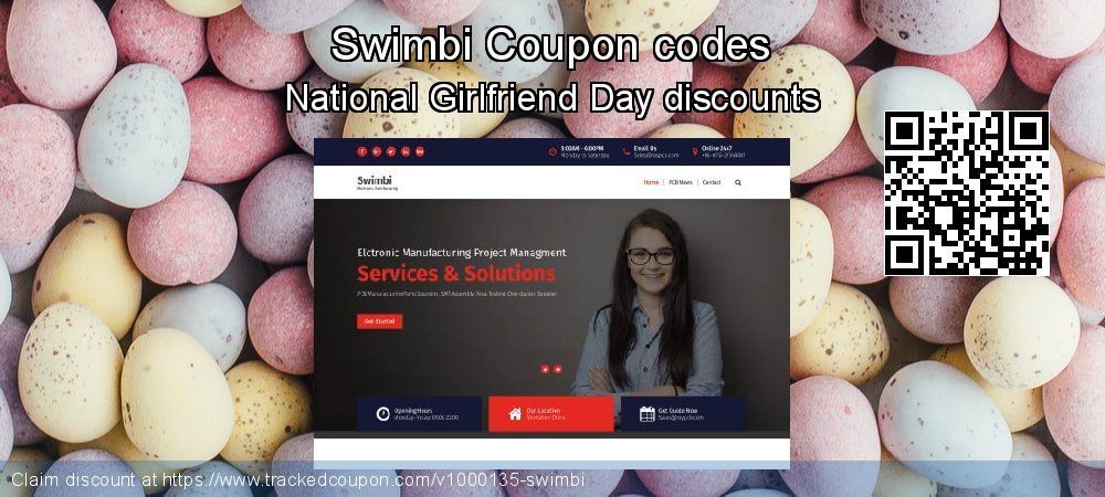 Swimbi Coupon discount, offer to 2020 Valentine Week