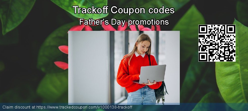 Trackoff Coupon discount, offer to 2020  Lover's Day