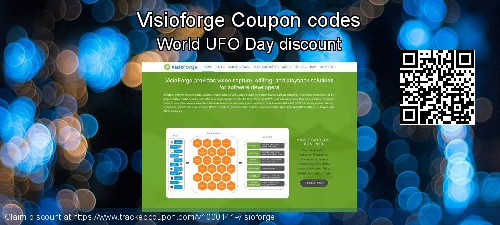 Visioforge Coupon discount, offer to 2019 Back to School shopping