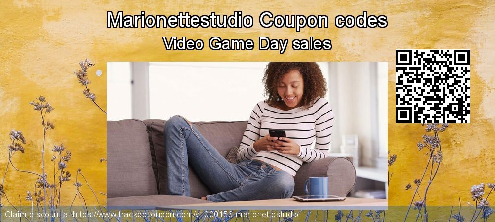 Marionettestudio Coupon discount, offer to 2021