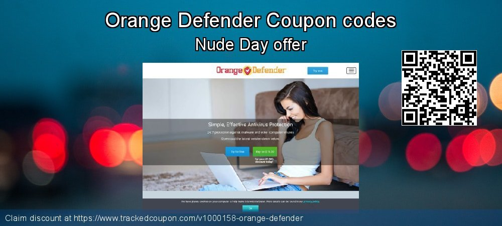 Orange Defender Coupon discount, offer to 2019 Halloween
