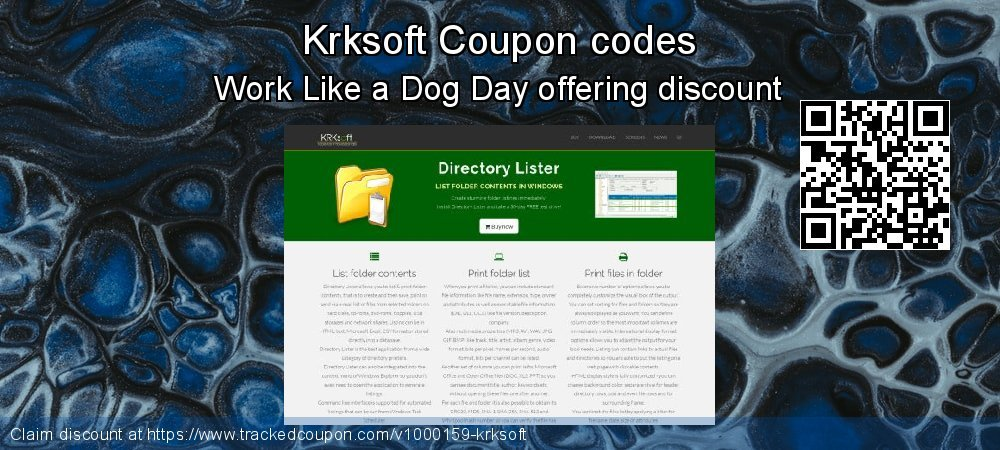 Krksoft Coupon discount, offer to 2020