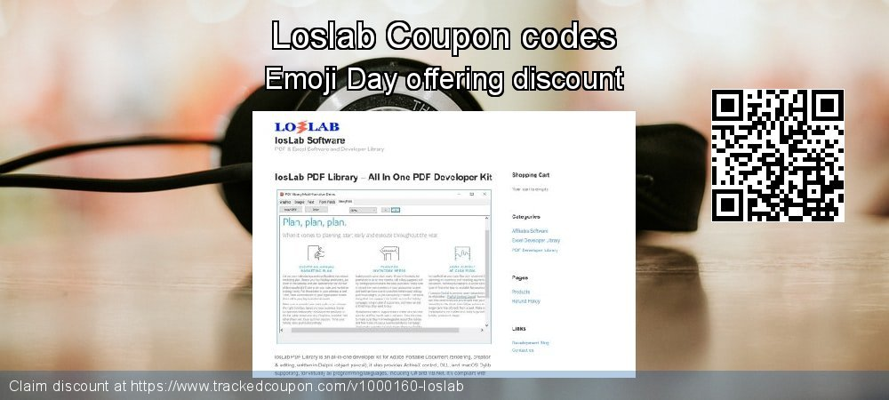 Loslab Coupon discount, offer to 2019 Halloween