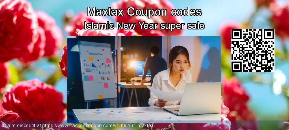 Maxtax Coupon discount, offer to 2020