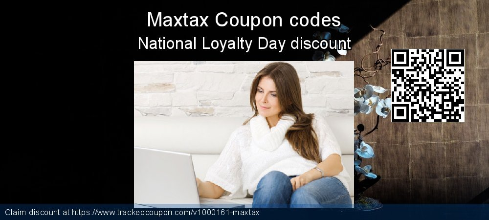 Maxtax Coupon discount, offer to 2021