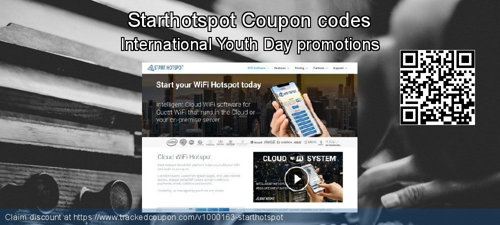 Starthotspot Coupon discount, offer to 2019 X'mas