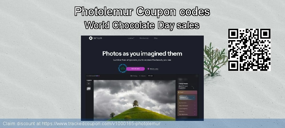 Photolemur Coupon discount, offer to 2019 Halloween