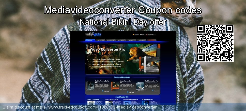 Mediavideoconverter Coupon discount, offer to 2019 Christmas Day