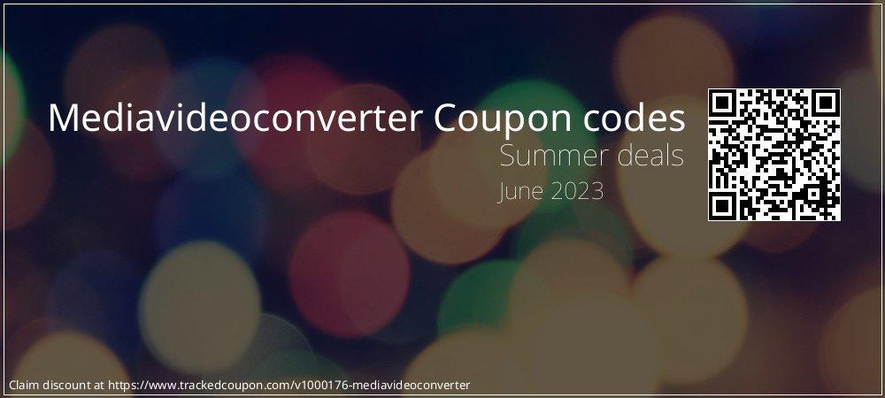 Mediavideoconverter Coupon discount, offer to 2019 Halloween