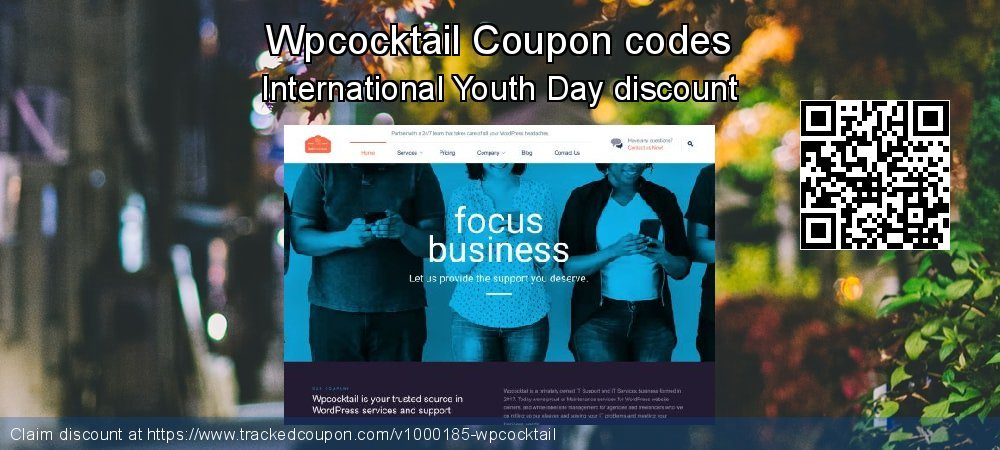 Wpcocktail Coupon discount, offer to 2019 Halloween