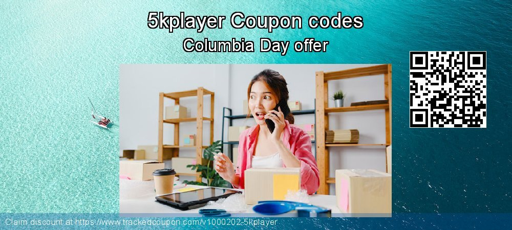5kplayer Coupon discount, offer to 2020 New Year