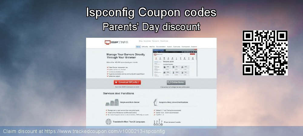 Ispconfig Coupon discount, offer to 2019 Halloween