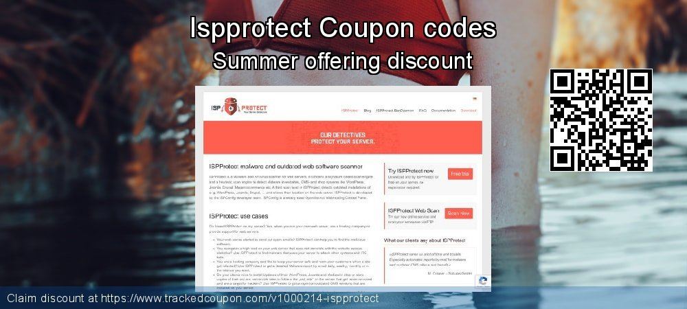 Ispprotect Coupon discount, offer to 2019 Summer
