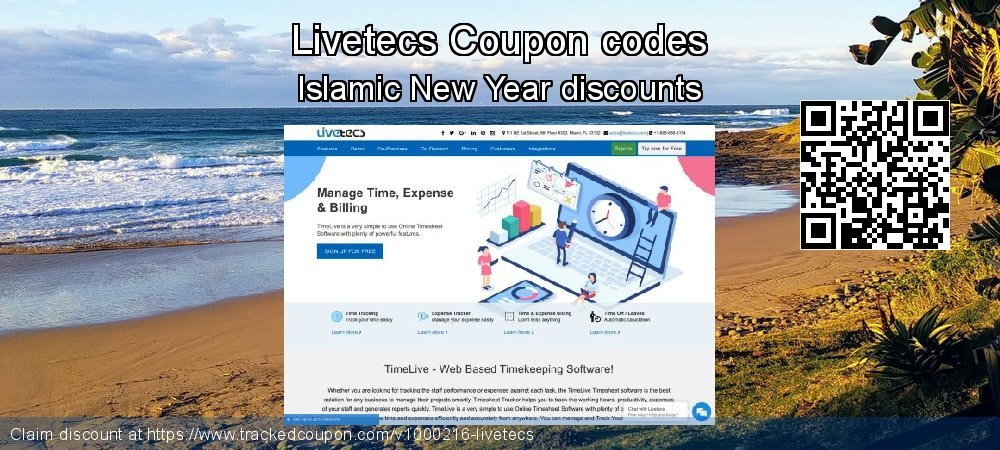 Livetecs Coupon discount, offer to 2019 Summer