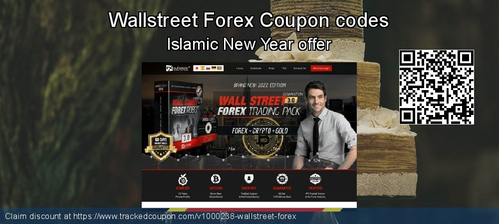 Wallstreet Forex Coupon discount, offer to 2019 Year-End