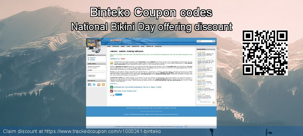 Binteko Coupon discount, offer to 2020
