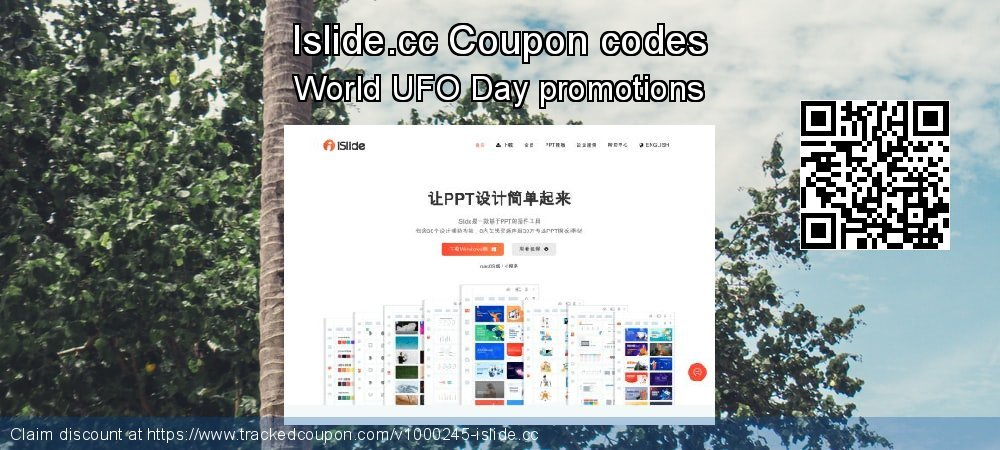 Islide.cc Coupon discount, offer to 2019 4th of July