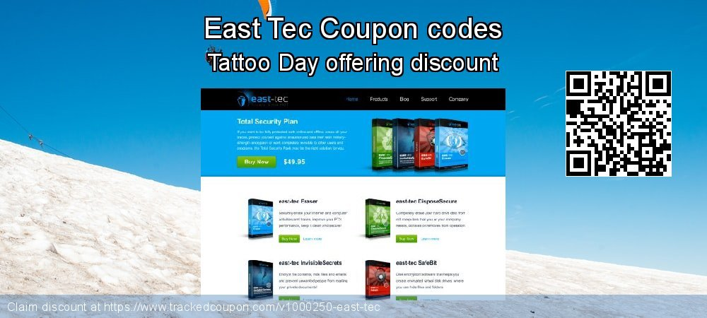 East Tec Coupon discount, offer to 2020 New Year