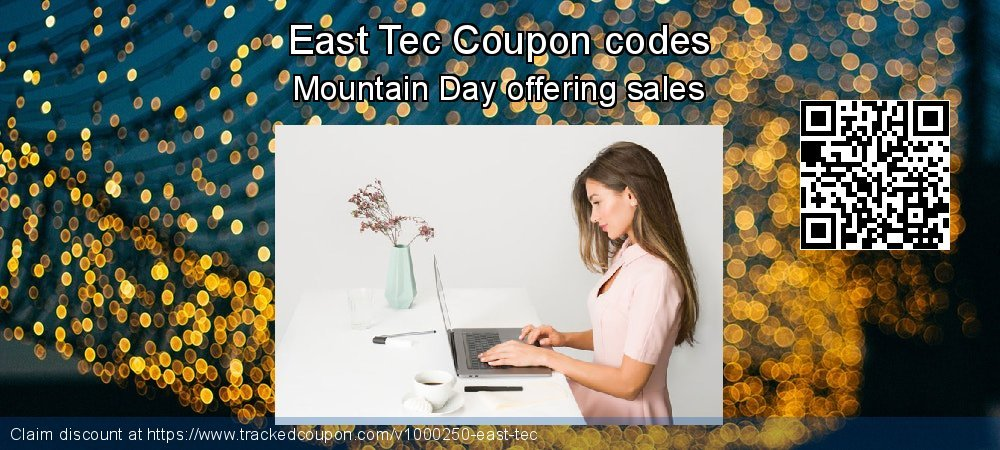 East Tec Coupon discount, offer to 2020 April Fool's Day
