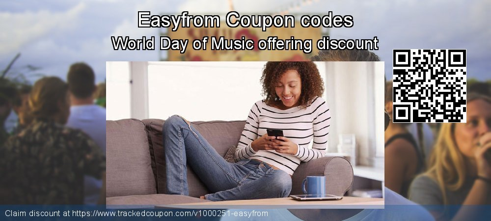 Easyfrom Coupon discount, offer to 2020