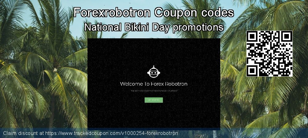 Forexrobotron Coupon discount, offer to 2020