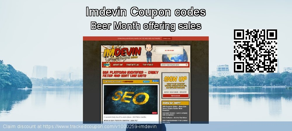 Imdevin Coupon discount, offer to 2020 New Year's Day