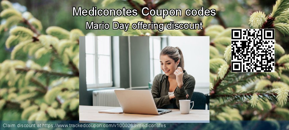 Mediconotes Coupon discount, offer to 2019 Black Friday